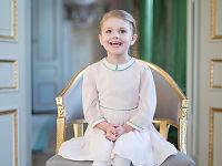Prinsesse Estelle fyller fire år