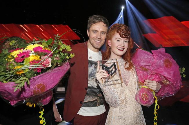 <p>VANT I FJOR: Her har Kjetil Mørland og Debrah Scarlett akkurat vunnet Melodi Grand Prix 2015. Lørdag står de begge på scenen igjen for å fremføre fjorårsvinneren, mens begge er aktuelle med hver sin nye single.</p>