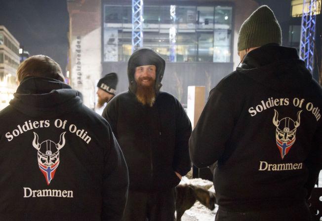 <p>PATRULJERER: Odins soldater vil gjøre norske gater trygge.</p>