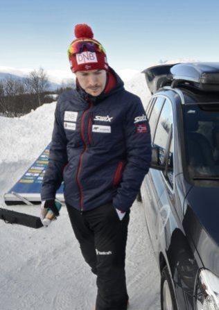 <p>VM-KLAR: Emil Hegle Svendsen er klar for å jakte medalje på hjemmebane.<br/></p>