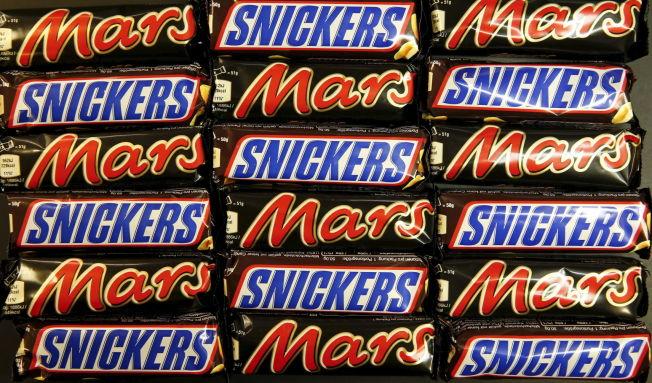 <p>GODTESTOPP: Sjokoladeprodusenten Mars har sett seg nødt til å tilbaketrekke tonnevis med sjokolade.</p>