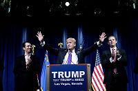 Trump:– Vi skal feire til langt på natt