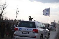 FN-nødhjelp sluppet fra fly over Syria for første gang