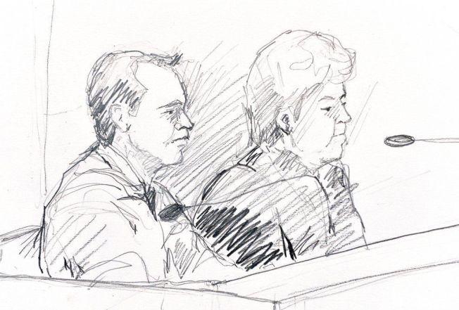 <p>I RETTEN: Den svenske legen (til venstre) sammen med advokaten sin Mari Schaub i retten.</p>