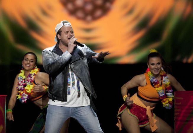 <p>KALAS: Fredrik Auke (Freddy Kalas) med låten «Feel Da Rush».</p>