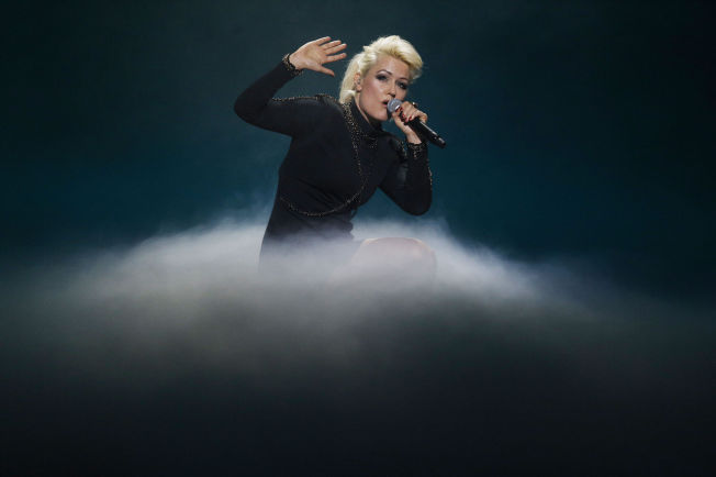 <p>KELTISK: Laila Samuels med låten «Afterglow».</p>