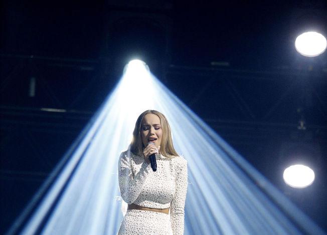 <p>VINNER IGJEN: Agnete Johnsen vant nok en gang Melodi Grand Prix.</p>