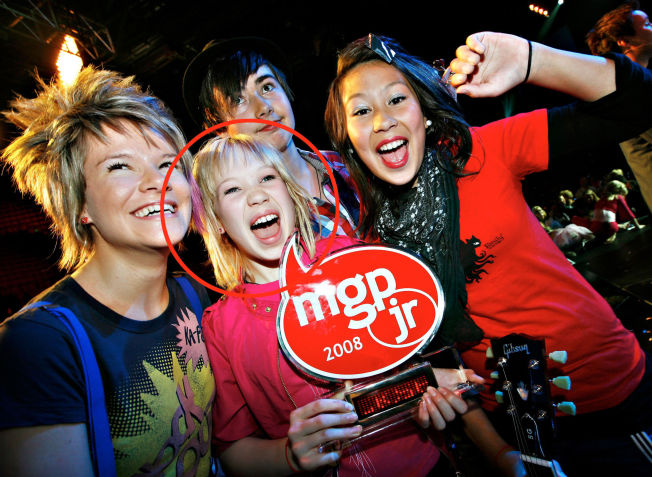 <p>FØRSTE GANG: Agnete og BlackSheeps deltok i MGP jr i 2008 - og vant både i Norge og internasjonalt.<br/></p>