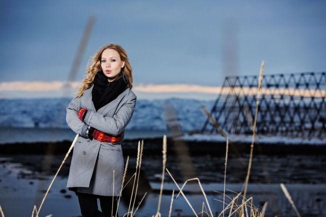 <p>FLYTTET HJEM: Agnete Johnsen hjemme i Nesseby i Finnmark i 2014.<br/></p>