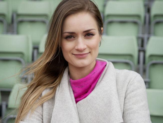 <p>VENTER BARN: Christina Vukicevic Demidov og mannen venter barn til sommeren.</p>