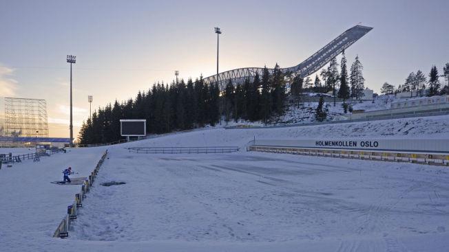 <p>VM-TENT: Mens verdenseliten i skiskyting var på verdenscup i USA i midten av februar, trente Emil Hegle Svendsen alene hjemme i Holmenkollen.</p>