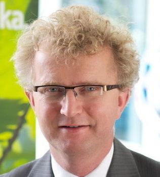 <p>TROR DET BLIR FLERE PÅ TRYGD: Jan Ludvig Andreassen, sjeføkonom I Eika Gruppen.</p>