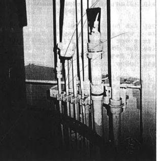<p>FIKSET RØRET: Røda Bolagets bergingsleder skriver at de fikset et rør i et teknisk rom for å få senket fergens bildekk. Mutteren som ble fjernet fra røret i taket i korridoren, ble brukt i forbindelsen med dette.</p>
