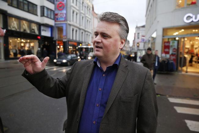 <p>FOR LAVT: Leder i Fellesforbunet, Jørn Eggum, er ikke fornøyd med NHOs tilbud.<br/></p>