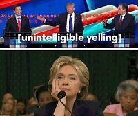 Så lei er Hillary av Trump