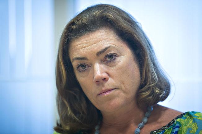 <p>NEI TIL KONTANTSTØTTE: Er parolen fra NHO-sjef Kristin Skogen Lund.<br/></p>