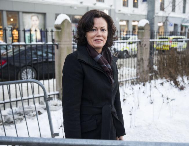 <p>GÅR IKKE I TOG: Likestillingsminister Solveig Horne.</p>