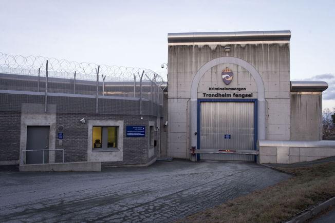 TRONDHEIM FENGSEL: Voldtekten skal ha skjedd bak murene på fengselet.