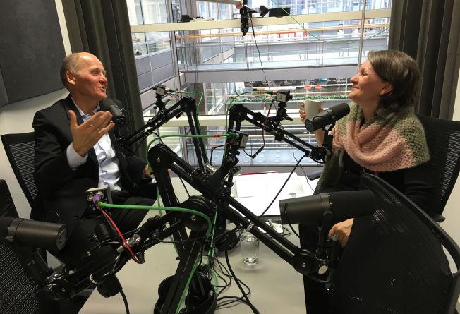 <p>NY PODKAST: Sigve Brekke i samtale med VGs politiske redaktør Hanne Skartveit.</p>