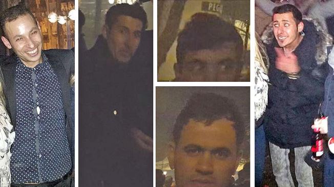 <p>FANGET PÅ KAMERA: Disse fem mennene er blant de mistenkte etter overgrpene i Köln på nyttårsaften. Nå har politiet frigitt bildene som ble tatt av dem med ulike mobilkameraer.</p>