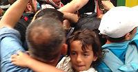 VG møtte de siste flyktningene som nådde frem på Balkanruten