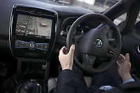 Førerløse biler inntar britiske motorveier