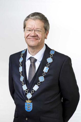 <p>ORDFØRER: Arne-Christian Mohn (Ap) i Haugesund.<br/></p>