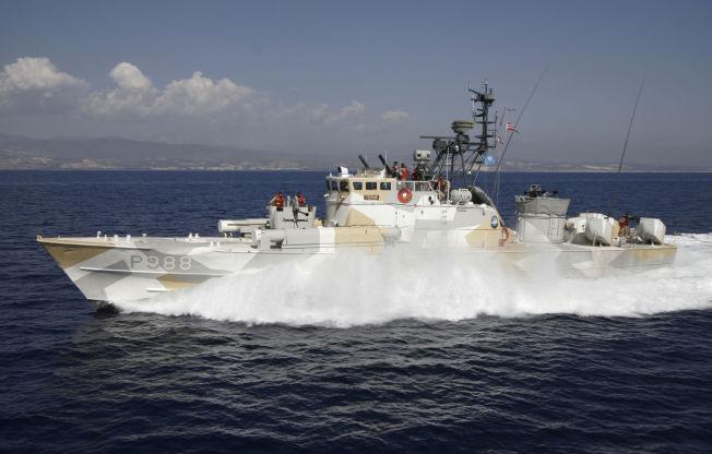 <p>TIL NIGERIA: MTB-en KNM «Terne» under ett av sine siste norske oppdrag, for FN utenfor Kypros i 2006. Nå seiler det tidligere norske krigsskipet for en privat marinestyrke eid av en tidligere krigsherre.<br/></p>