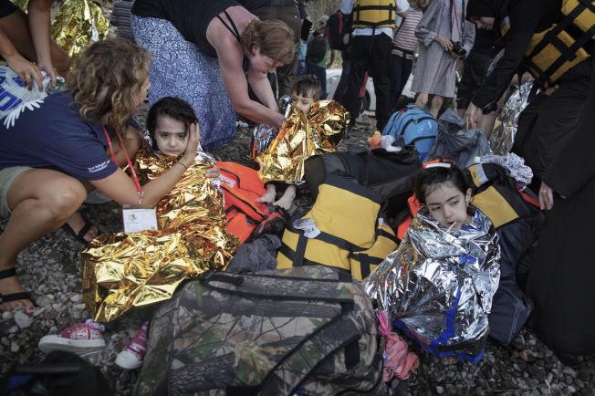 <p>TIL HELLAS OG TILBAKE: Den greske øya Lesvos har vært hoveddestinasjonen for flyktninger som har reist fra Tyrkia. Nå skal de sendes tilbake. Foto: ESPEN RASMUSSEN, VG</p>