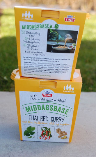 TINE Thai red curry 2