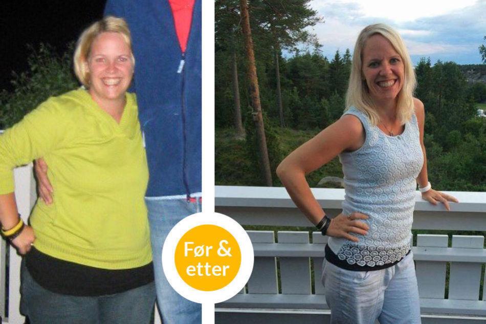 gå ned 30 kg på 2 måneder