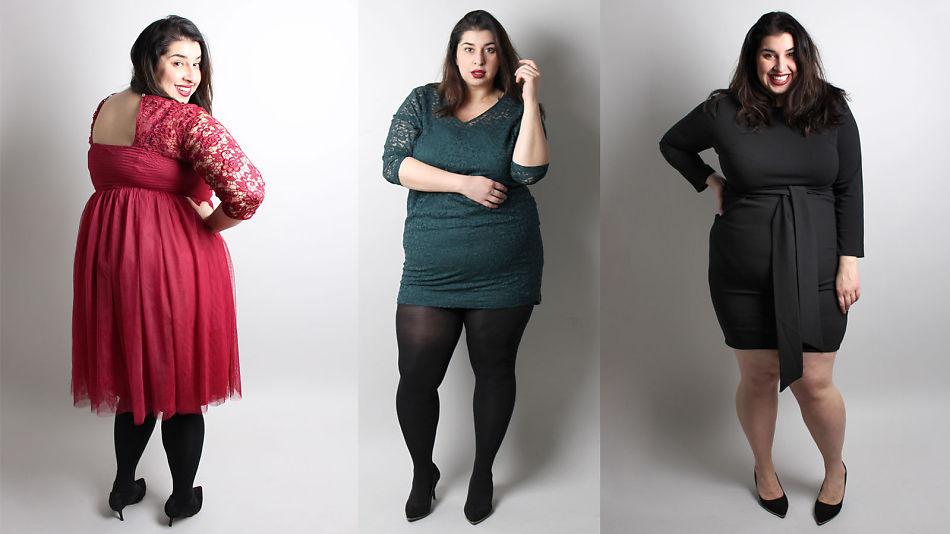 660c56b9 PÅ KJOLEJAKT: Plus size-blogger Nastaran Marie Kowkabi synes det er  vanskelig å finne
