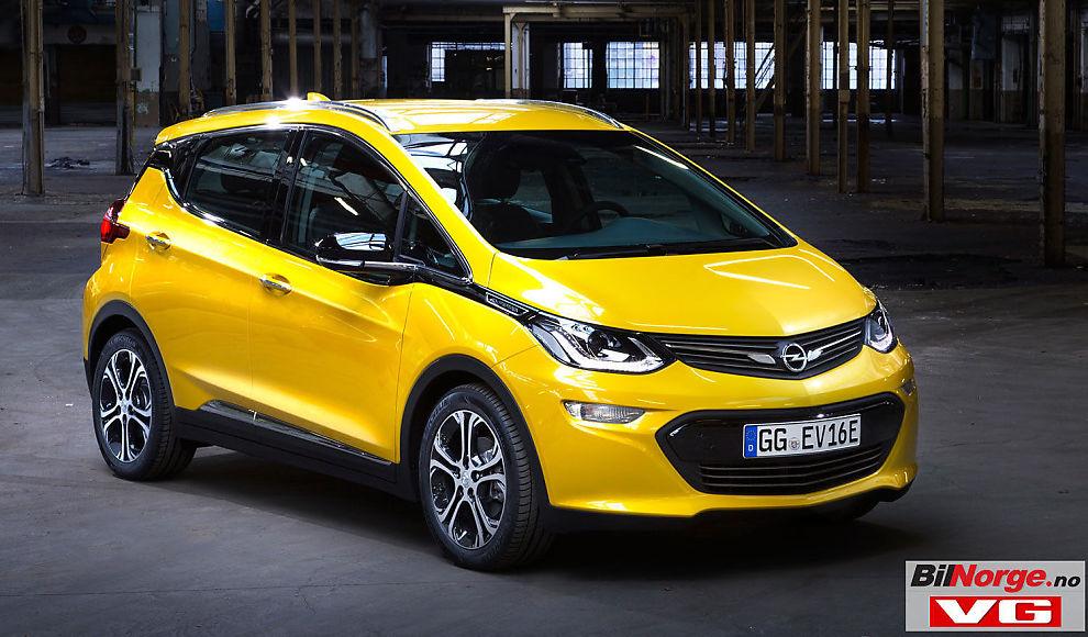 <p>PRISVINNER: Ingen av de andre elbilene i markedet kan levere så lang maksimal rekkevidde i forhold til pris, som Opel Ampera-e.</p>
