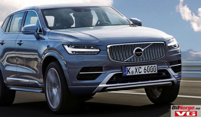 <p>FAMILIELIKHET: Når Volvo neste år lanserer en ny XC60, har den trolig hentet mye inspirasjon fra storebror XC90, både utvendig og innvendig. Bildet er en datategnet versjon, basert på spionfotografier og kunnskap hos spionfotografene.</p>