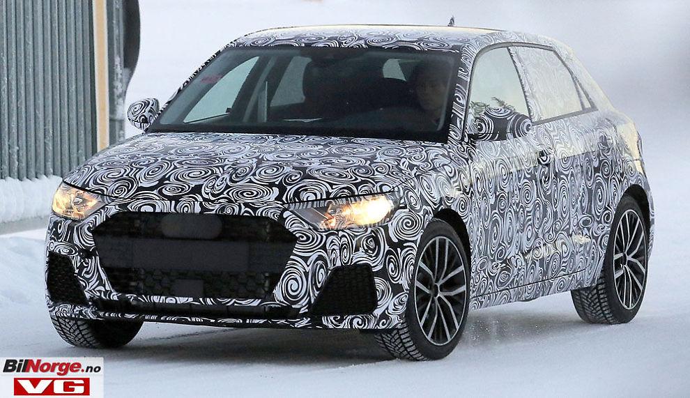 AUDIS MINI: A1 er Audis Mini-konkurrent. Her er de første bildene av generasjon to som kommer på markedet i 2018.