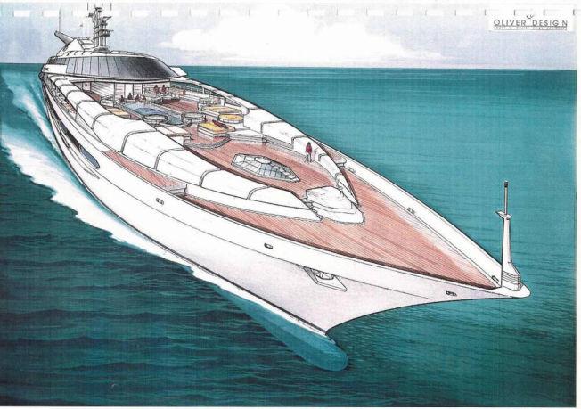 UREALISERT: Donald Trump planla å bygge verdens fineste yacht i Spania med en av verdens beste båtdesignere.