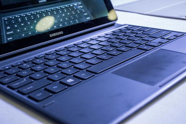 Tastaturet føltes ut som et vanlig bærbar-tastatur, noe som sier ganske mye.