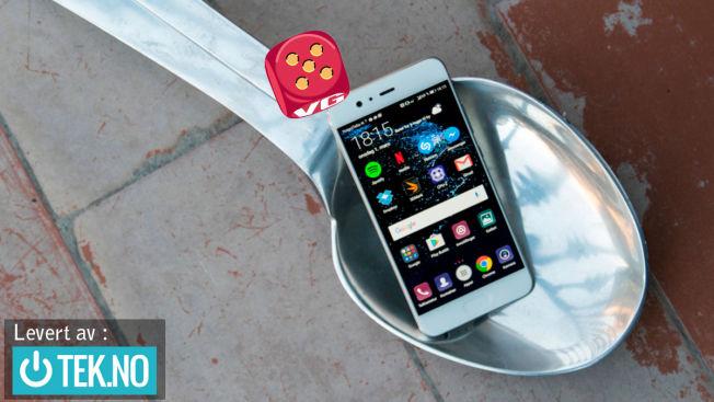 <p>TREFFSIKKER: Huawei P10 byr på en kombinasjon av ytelse, størrelse og funksjoner som er midt i blinken.</p>