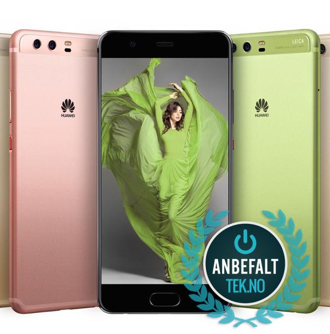 <p>ANBEFALES: Huawei P10 får anbefalt-stemplet til Tek.no</p>