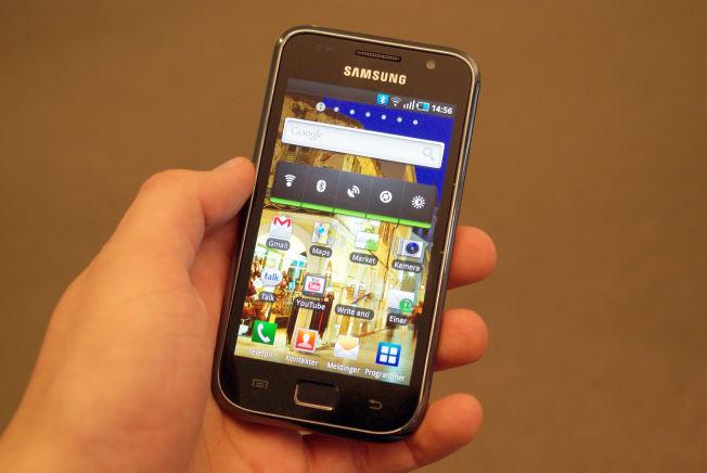 Mobilen som startet serien; Samsungs første Galaxy S.