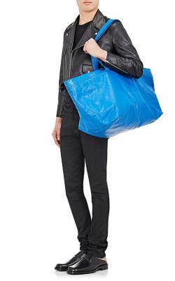 Ny Balenciaga veske sammenlignes med Ikea bag MinMote.no
