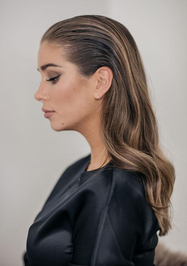 hvordan få wetlook hår