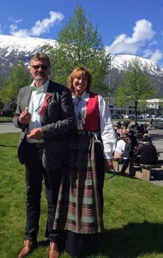 Aud Brekken Kjæresten 17 mai