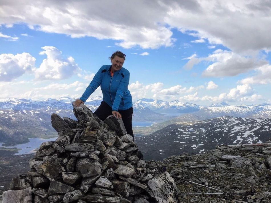Aud Brekken Håkodalshøa i Sunndal 1733 moh
