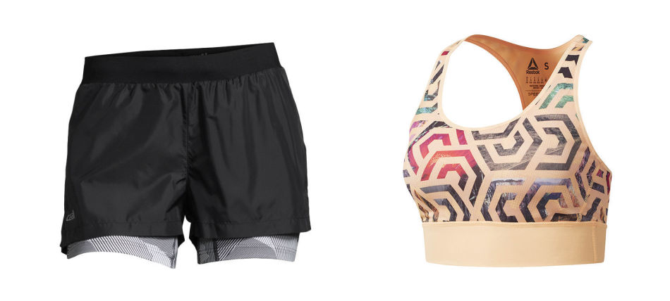 fresh vartrening shorts og bh