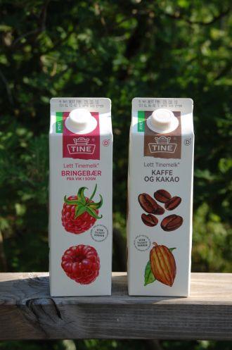 Tinemelk med smak høykant