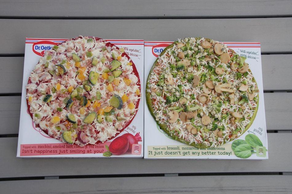 begge pizzaer frosne