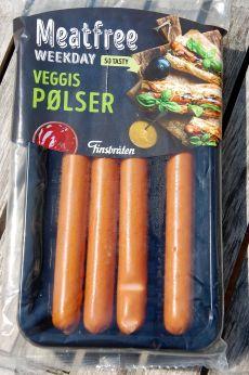 Veggis pølser i pakken