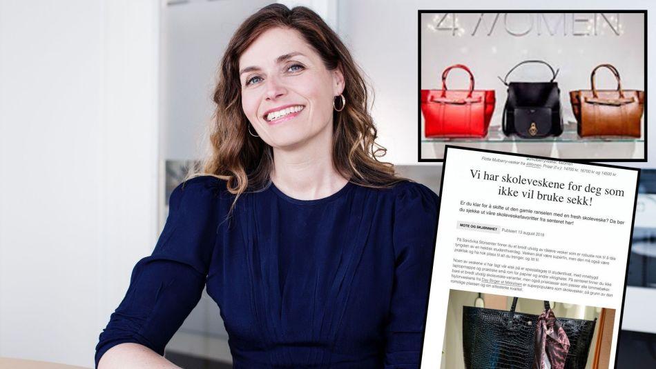 67abaaf3 MISLIKER KJØPEPRESSET: Eva Sørmo, forbrukerøkonom i Norsk Familieøkonomi.  «Inspirasjonsbloggen» er fjernet