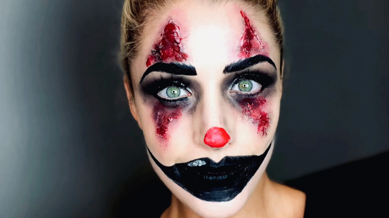 Skummel Halloween Sminke.Slik Kan Du Sminke Deg Til Halloween Minmote No Norges